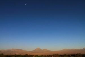 Einsamer Mond © Peter Leskovar